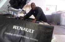 Meet CMH Renault's Workshop Mechanic Ephrone Mmela