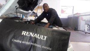Meet CMH Renault's Workshop Mechanic Ephrone Mmela