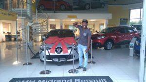CMH Renault Midrand Senzo Mahlobo
