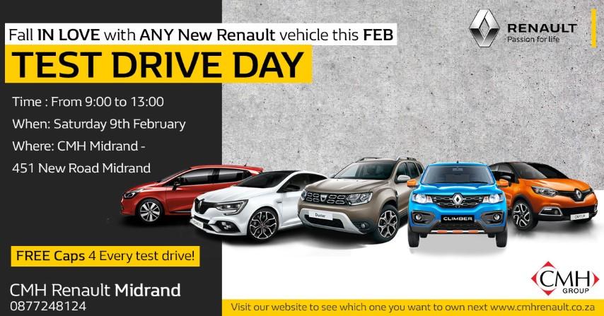 Test Drive Day Advert