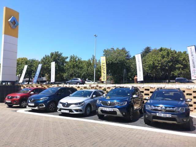 Renault vehicle display