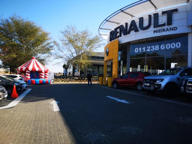 CMH Renault Midrand July Entertainment - Jumping Castle Activity