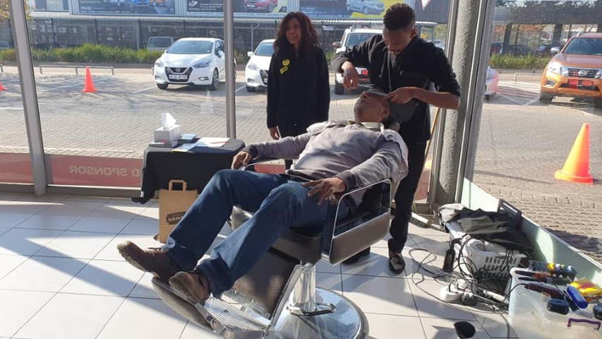 Free Haircut from Sorbet for Father's Day by Renault Midrand