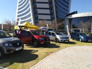 CMH Renault Midrand Display Stand