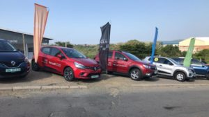 CMH Renault- Renault vehicles on display