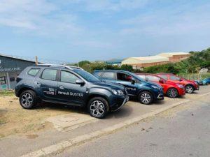 Renault vehicles display