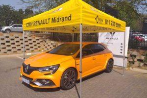Renault Megane RS At CMH Renault Midrand