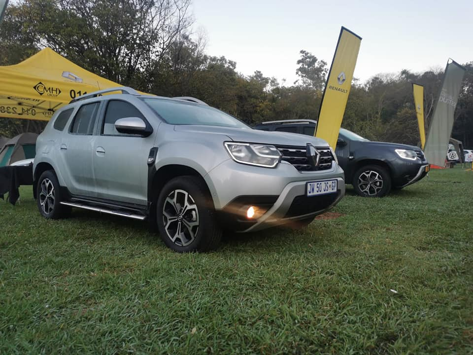 Right view of Renault Duster