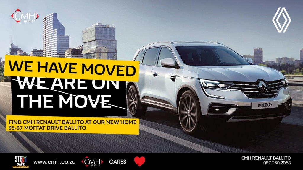 CMH Renault Ballito - We have moved