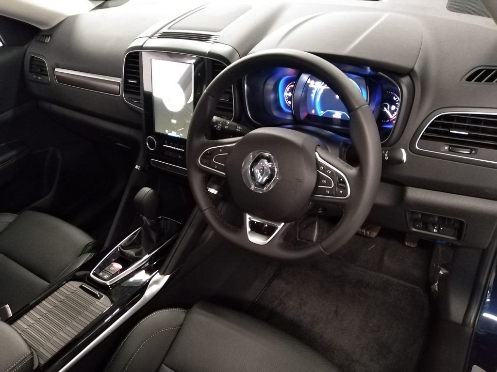 Renault Koleos Interior Driver